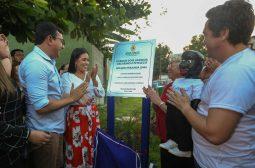 Governo inaugura Parque 'Dois Amigos: Oscarino e Peteleco', em Manaus
