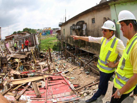 UGPE realiza vistoria em nova área de intervenção do Prosamim no bairro Presidente Vargas