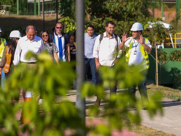 Engenheiros do Pará visitam obras do Prosamim para conhecer as boas práticas da política ambiental do programa