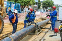 Governo do Estado conclui a construção de rede de esgoto na bacia do São Raimundo