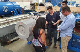 Técnicos da UGPE fazem vistorias nos equipamentos da ETE Educandos