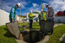 Obras de Saneamento do Prosamim são Inspecionadas