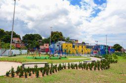 Governo do Estado conclui o paisagismo de praças e novas áreas de lazer na zona sul
