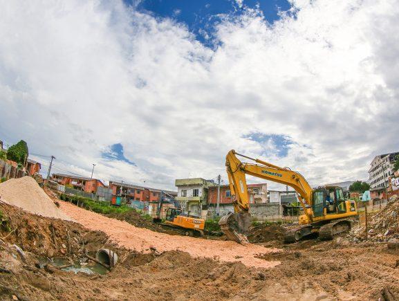 Governo do Estado inicia obras do Prosamim no igarapé Mestre Chico