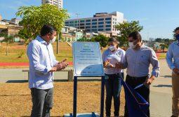 Reinauguração do Parque Urbano Desembargador Paulo Jacob