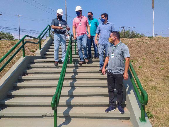 Prosamim e Implurb realizam visitas técnicas em Parques Urbanos do programa