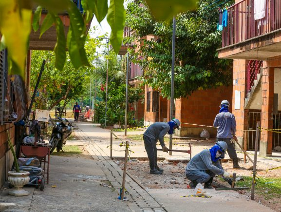 Reforma dos residenciais do Prosamim chega ao Parque Gilberto Mestrinho, na Cachoeirinha