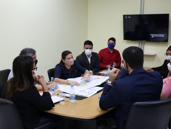 UGPE e Defensoria Pública alinham informações sobre a conclusão dos reassentamentos do Prosamim III