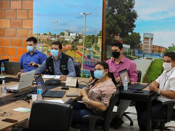 Governo do Estado conclui missão de inspeção do BID sobre os avanços do Prosamim III