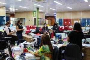 """Campanha """"Abril Verde"""" reforça medidas de segurança contra a Covid-19 na sede da UGPE"""