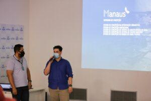 Governo do Estado e Águas de Manaus alinham informações para um novo programa de saneamento
