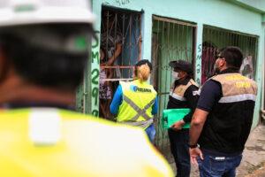 Governo realiza vistoria em área de intervenção do Prosamim