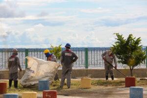 Governo do Estado inicia reforma no Parque Rio Negro