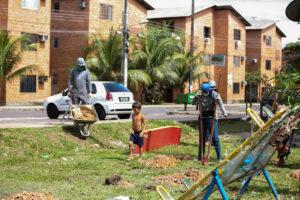 Reforma dos Residenciais do Prosamim beneficia 12 mil pessoas
