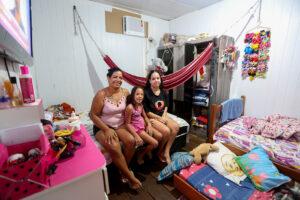 Estudo do Governo aponta que 60% dos lares na Comunidade da Sharp são chefiados por mulheres