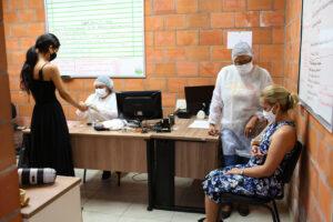 UGPE realiza ação de saúde aos moradores de parques residenciais do Prosamin+