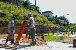 Governo do Estado avança na revitalização do Parque Rio Negro