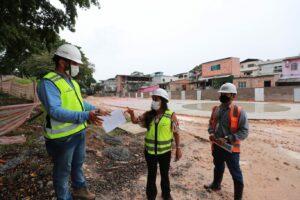 Avenida Tefé terá trecho interditado para execução de obras do Prosamin+