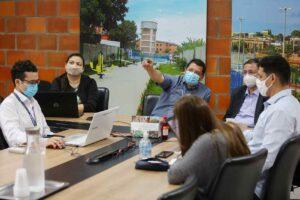 Governo e Município se reúnem para discutir os espaços comerciais planejados para o Prosamin+