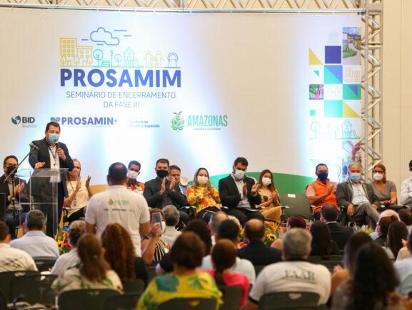 Mudança na vida de moradores que viviam às margens dos igarapés é relatada em seminário realizado pela UGPE